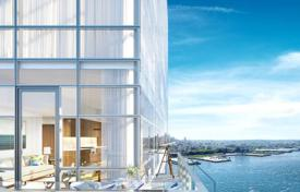 Property for sale in North America. Apartment with a spacious balcony and panoramic views at the Seaport, Manhattan, New York