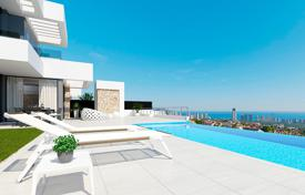 Luxury villa with private pool and amazing sea views in Finestrat for 1,090,000 €