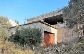 Land plot with an unfinished house, a sea view and communications, Ciovo, Croatia for 600,000 €