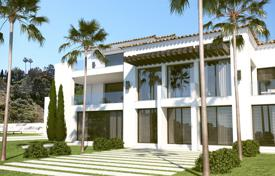 5 bedroom houses for sale in Benahavis. Modern villa in El Madroñal, Benahavis