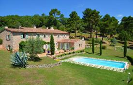 Luxury 4 bedroom houses for sale in Côte d'Azur (French Riviera). Provencal Bastide On An Exceptional Field Of 60 Hectares In Draguignan