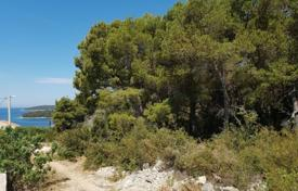 Coastal development land for sale in Croatia. Large plot of land for construction with communications and sea views, Maslinica, Croatia