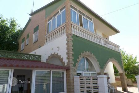 Cheap property for sale in Castellbisbal. Two-storey house with pool and garden in Sant Eugini, Catalonia, Spain