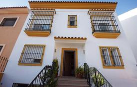 Townhouses for sale in Andalusia. Modern townhouse with a private garden and a garage, Nueva Andalucia