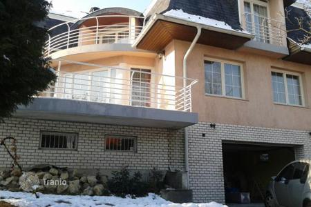 Houses for sale in Budapest. Three-storey house on a large plot in a prestigious area in Budapest, Hungary