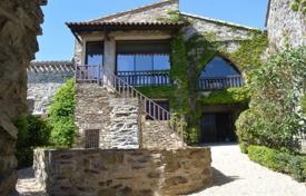 4 bedroom houses for sale in Aude. Villa with a natural stone facade with a guest house, overlooking the mountains, 20 minutes from Carcassonne, Aude, France