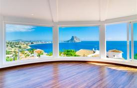 Residential for sale in Calpe. Designer villa with pool and panoramic views of the sea in Calp, Alicante, Costa Blanca