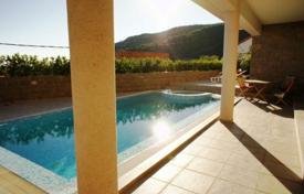 Coastal houses for sale in Becici. Modern villa with sea view in Becici