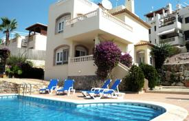 Houses with pools for sale in Altea. Two-level villa with a garden and a pool in a picturesque area of Las Ramblas, Spain