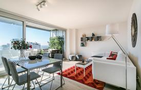 New homes for sale in Barcelona. Two-bedroom apartment in a new house with a swimming pool in Diagonal Mar, Barcelona, Spain