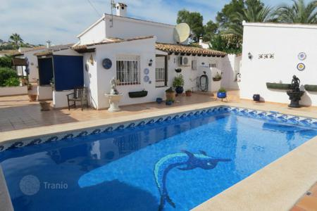 4 bedroom houses for sale in Moraira. 4 bedroom villa with private pool and mountain views in Moraira