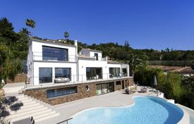 Luxury property for sale in Saint-Raphaël. Modern villa with a pool and panoramic sea views, in Les Adres-de-l'Esterel, France