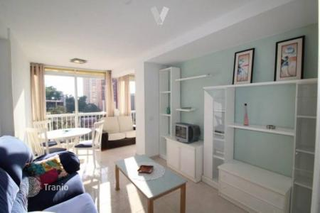 1 bedroom apartments for sale in Central Spain. Income apartment margin of 5%! Furnished apartment with sea views in a residential complex with pool, near the beach in Benidorm