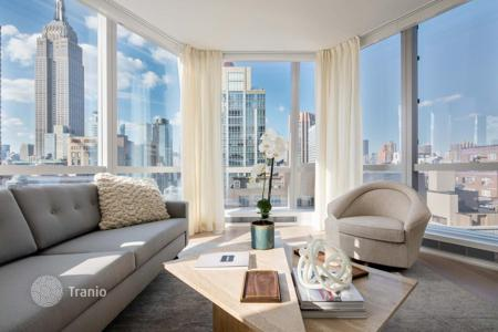 Property for sale in North America. Studio apartment in a new residential complex designed by the world-famous architect in the area of Nomad, New York