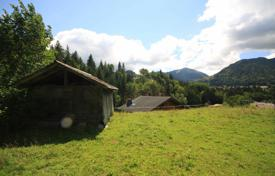 Development land for sale in France. West facing plot in a tranquil corner of Montriond, France