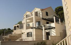 Property for sale in Postira. Furnished villa with a plot, a pool, a terrace and a sea view, Postira, Croatia