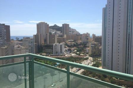 3 bedroom apartments for sale in Benidorm. 3 bedroom apartment with communal pool and terrace with sea views in Benidorm