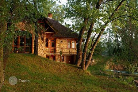 Residential for sale in Gyor-Moson-Sopron. The land is surrounded with six lakes, crawls. The lakes are in average 4 meters in depth, and have a large variety of fish stock