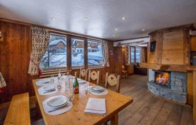 Luxury apartments for sale in French Alps. Four-room apartment in a traditional style, Courchevel, France