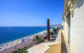 4 bedroom apartments for sale in Nice. Large apartment on the seafront in Nice