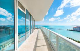Sunny two-bedroom apartment with panoramic ocean views in Miami Beach, Florida, USA for $5,085,000