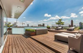 Penthouses for sale in Germany. Precious seven-room penthouse with outdoor terrace of 250 m², barbecue area and a Japanese garden, Tiergarten district, Berlin