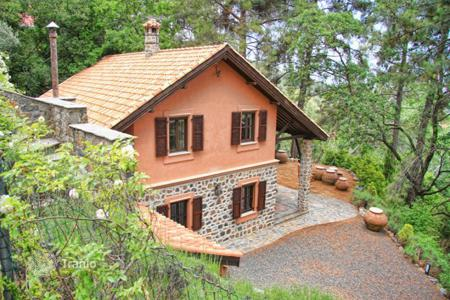Luxury houses for sale in Pano Platres. Three Bedroom Stone Built Detached House