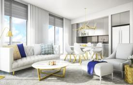 1 bedroom apartments for sale in North America. Spacious open-plan apartments with large terraces in a residence with a swimming pool, lounge areas and tennis courts, Sunrise