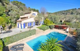 Coastal property for sale in La Colle-sur-Loup. Villa – La Colle-sur-Loup, Côte d'Azur (French Riviera), France