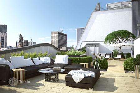 Luxury penthouses for sale in Berlin. Luxurious penthouse with 2 terraces near the KaDeWe, Berlin. Offer from the developer