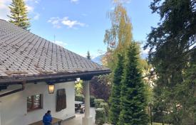 Comfortable chalet with a terrace, mountains views and a spacious plot in an elite residence, Crans-Montana, Switzerland for 15,900,000 €