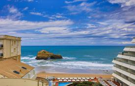 Property for sale in Biarritz. Studio apartment with stunning ocean views in Biarritz, Aquitaine, France