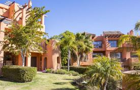 Apartments for sale in Estepona. Apartment with a terrace and a garage in a residential complex with a garden, a swimming pool and a gym, Estepona, Spain