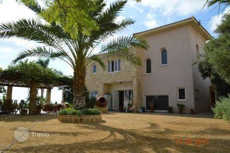Luxury property for sale in Yeroskipou. 4 Bedroom Seaview Villa, Geroskipou