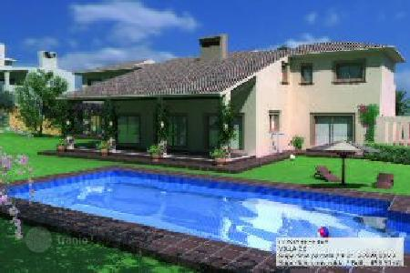 Luxury residential for sale in Castille and Leon. Villa under construction in final phase of La Reserva