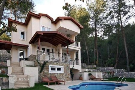5 bedroom houses for sale in Western Asia. The three-storey luxury villa with a large terrace overlooking the beautiful garden, Göcek, Fethiye, Turkey