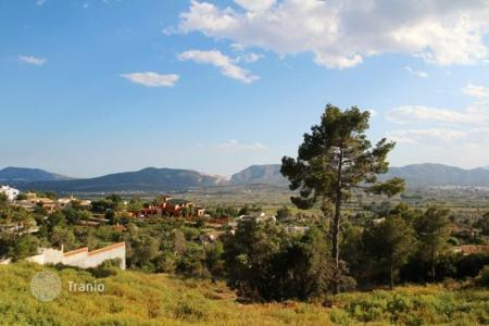 Development land for sale in Alicante. Large pice of land in the area of Javea