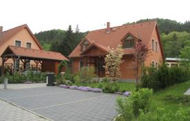 3 bedroom houses for sale in the Czech Republic. Modern house with a terrace, in a residential complex with a park, a swimming pool and a parking, Karlovy Vary, Czech Republic