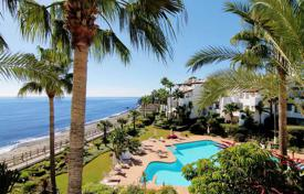 Penthouses for sale in Costa del Sol. Two-level penthouse on the beach in Puerto Banus, Costa del Sol, Spain