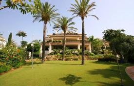Luxury apartments for sale in Spain. Elegant apartment with a terrace in a residential complex with a garden, a swimming pool and a direct access to the beach, Marbella, Spain