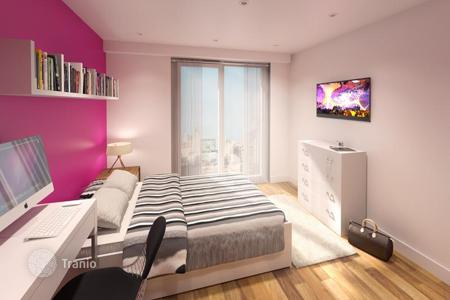 Student accommodation for sale in the United Kingdom. Student apartments in a new complex in Liverpool with a 7% yield