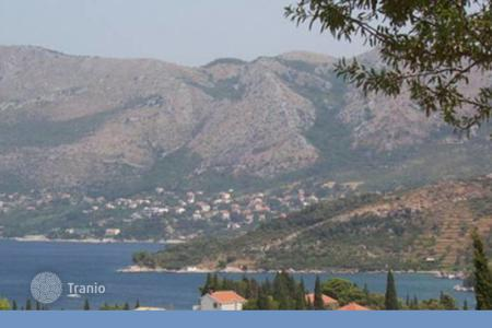 Land for sale in Dubrovnik Neretva County. Plot near the national park, Cavtat, Croatia