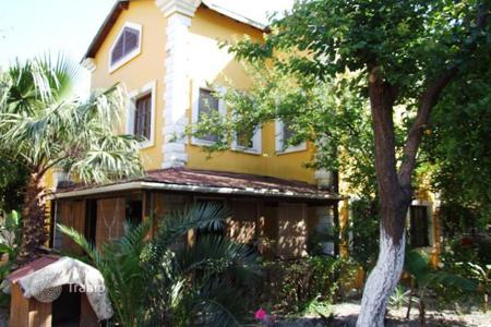 Cheap 2 bedroom houses for sale overseas. Villa with mountain views in a complex of town Camyuva