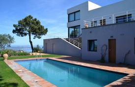 2 bedroom houses for sale in Catalonia. Two-storey villa with a pool and terraces, with panoramic sea views, Begur, Spain