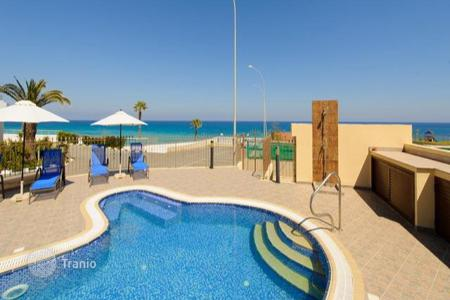 Luxury 4 bedroom houses for sale in Famagusta. Four Bedroom Sea Front Detached Villa with Pool