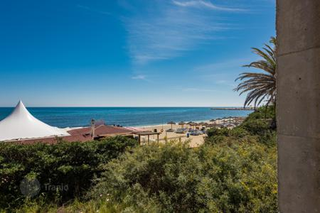 Land for sale in Andalusia. Unique Plot on the seafront in Cabopino, Marbella East