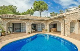 3 bedroom houses by the sea for sale in Spain. Luxury villa with panoramic views of the sea, a pool, a sauna and a garden, 100 meters from the beach, Benissa, Spain