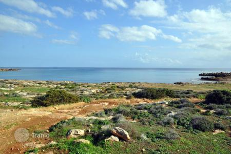 Land for sale in Famagusta. BEACH FRONT PLOT OF LAND