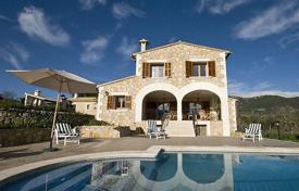 5 bedroom villas and houses to rent in Balearic Islands. Detached house – Campanet, Balearic Islands, Spain