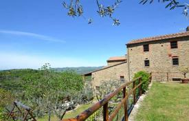 Property for sale in Bucine. Three-storey stone villa with a pool in Bucine, Tuscany, Italy